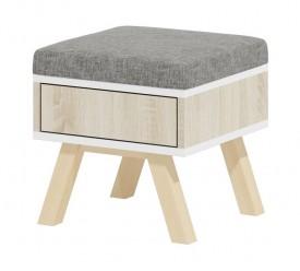 Stolik pufa z szufladą Espoo 1
