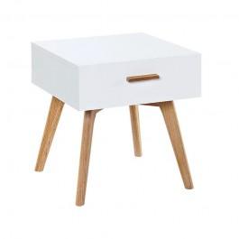 Szafka Milanos z szufladą na drewnianych nogach