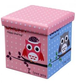 Dziecięca pufa Moly Owl