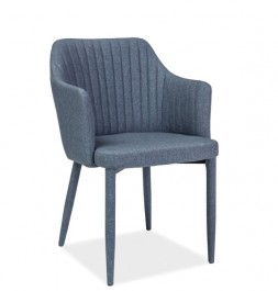 Krzesło do jadalni z tapicerowanymi nogami Welton