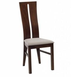 Krzesło do jadalni z tapicerowanym siedziskiem Anabell