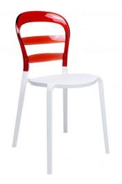 Krzesło do jadalni z tworzywa Carmen