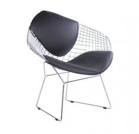 Designerskie fotel metalowy Volier Arm