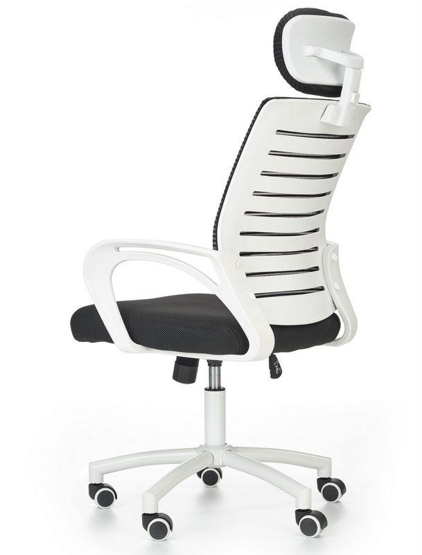 Fotel biurowy z regulowanym zagłówkiem Socket Kupmeble.pl