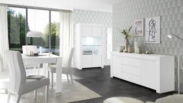 Fato Luxmeble - meble do salonu i jadalni Tuscany biały mat