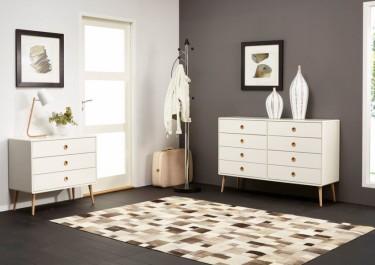 Tanie, białe komody – idealny wybór do przedpokoju