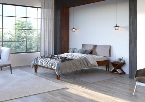 Visby - drewniane łóżka do sypialni Poznań