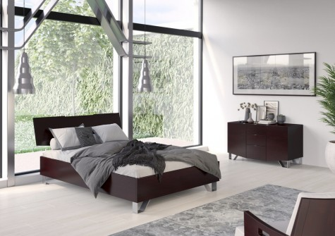 Visby - meble do sypialni z drewna bukowego Bardo