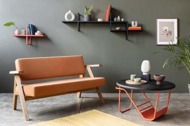 Meble w stylu loftowym w nowoczesnym salonie