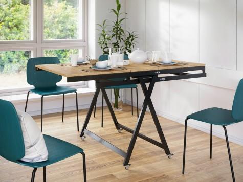 Pegie Prestige - stoły w stylu loft z możliwością przekształcenia w regał Magic