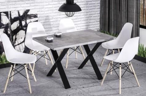 Endo - stoły do jadalni z podstawą w kształcie litery X