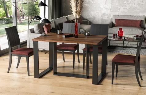 Endo - duże stoły z rozkładanym blatem na płozach Borys