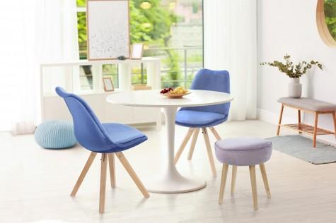 Intesi - nowoczesne krzesła i hokery z poduszką Norden