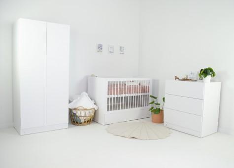 Ovvokids - białe klasyczne meble dziecięce Lio