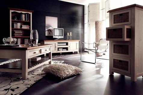 Fato Luxmeble - postarzane meble do domu i mieszkania Bergel