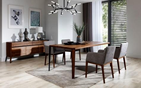 Meble Nova - drewniane meble do salonu i jadalni Rabel