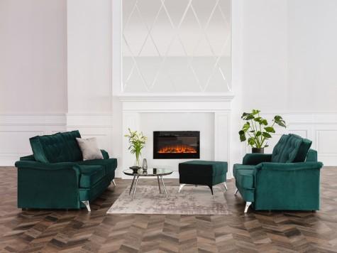Hauss - meble wypoczynkowe do salonu w stylu glamour Sissi