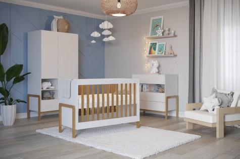 Kocot Kids - białe meble do pokoju dziecka w stylu skandynawskim Victor