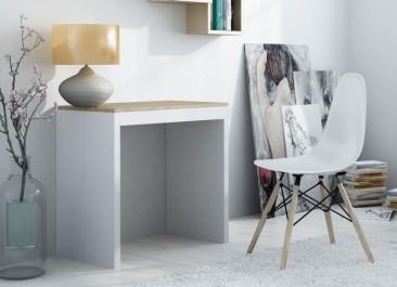Biurko i krzesło w stylu skandynawskim uzupełnieniem domowego kącika do pracy