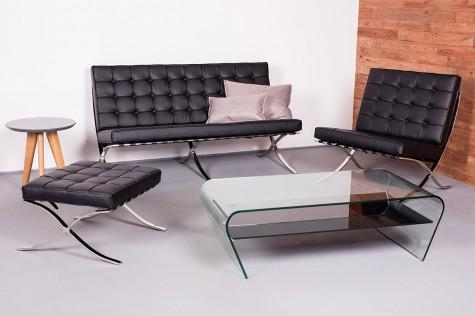 King Home - designerskie meble wypoczynkowe ze skóry naturalnej i ekologicznej Barcelon