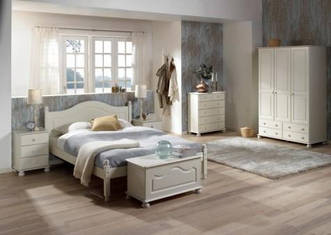 Steens - romantyczne meble do sypialni Richmond białe