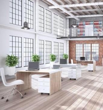 Hubertus - meble biurowe w skandynawskim stylu Nordic DSW