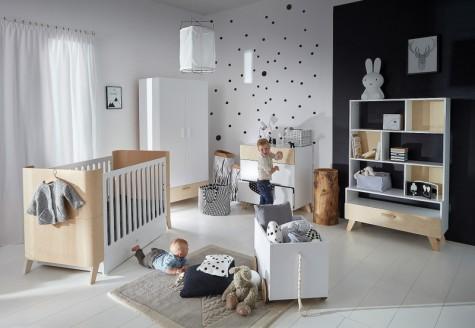 Bellamy - skandynawskie meble do pokoju dziecięcego Hoppa