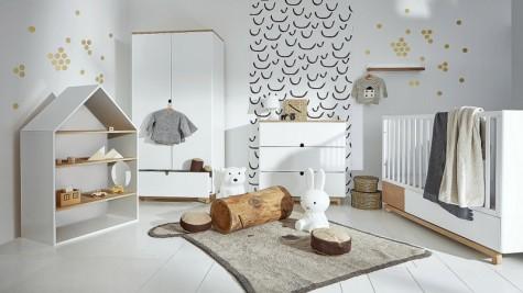 Bellamy - meble do pokoju dziecięcego w stylu skandynawskim Nomi