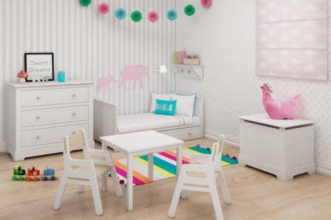 Bellamy - białe meble dla dziecka Marylou