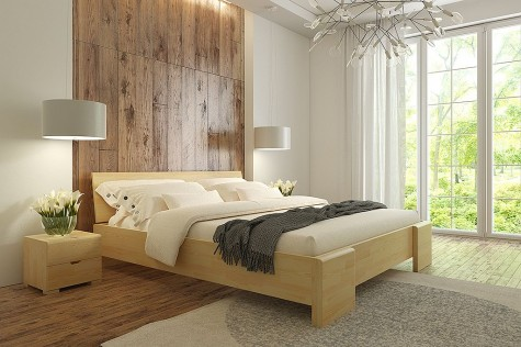 Visby - meble drewniane sosnowe do sypialni Hessler