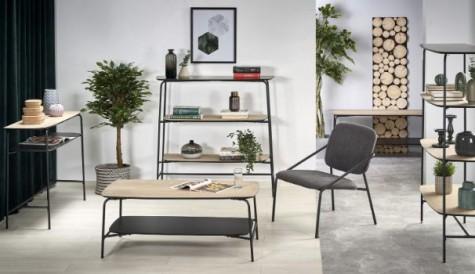 Halmar - nowoczesne meble pokojowe w stylu industrialnym Genua
