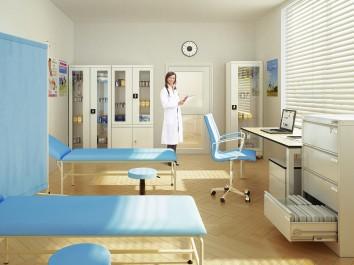 Szafki przeszklone i ich zastosowanie w placówkach medycznych
