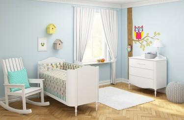 Łóżeczko dziecięce podstawą kolorowych snów