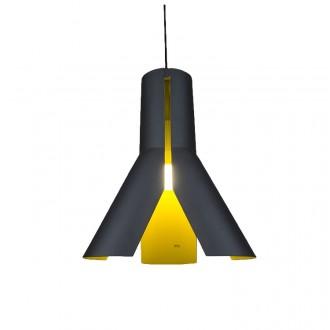 Dwukolorowa lampa wisząca Origami Design 1
