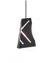 Czarna lampa wisząca Modern Design 1