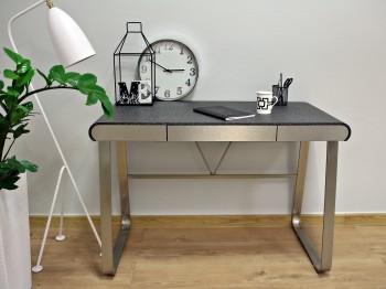 Biurko z blatem w imitacji kamienia Edna