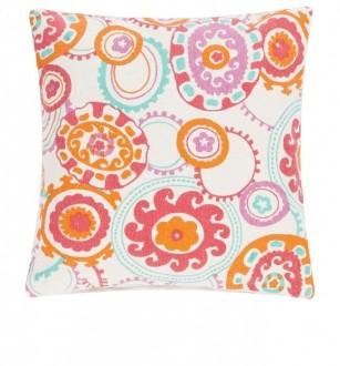 Wzorzysta poduszka dekoracyjna Colour Jam 45x45