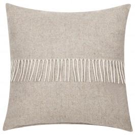 Poduszka z ozdobnymi frędzlami Devon Gold 45x45
