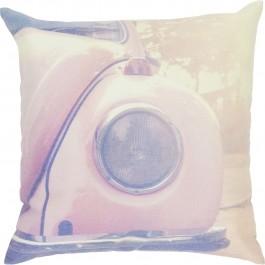 Dekoracyjna poduszka z motywem auta Caddy 45x45