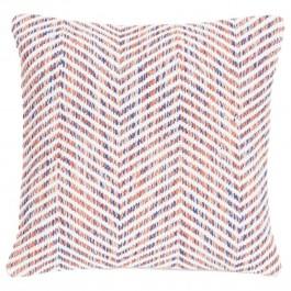 Poduszka w geometryczne wzory Melange Zigzag 45x45