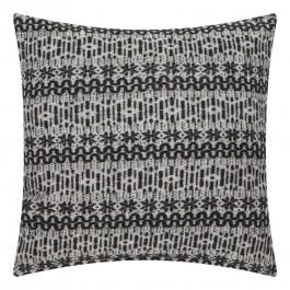 Wzorzysta poduszka New Nordic 45x45 czarno biała