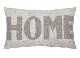 Dekoracyjna poduszka z napisem Home 30x50