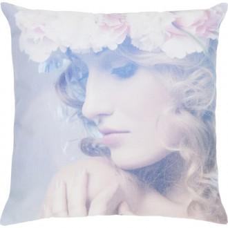 Dekoracyjna poduszka z kobiecym portretem Joyce 45x45