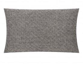 Poduszka w geometryczne wzory Kenley 30x50 biało-czarna