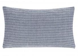 Wzorzysta poduszka dekoracyjna Summer Wave 30x50 niebieska