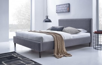 Tapicerowane łóżko z zagłówkeim Flexy