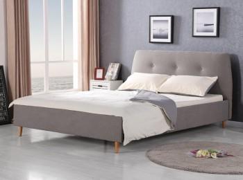 Łóżko z zagłówkiem Doris