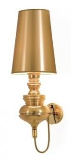 Lampa ścienna z kloszem z tworzywa Queen Wall 18