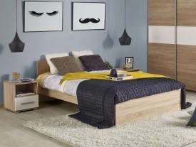 Łóżko Lima 160 x 200 dąb sonoma