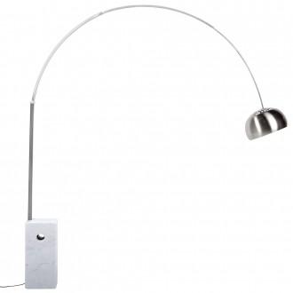 Łukowa lampa podłogowa Marmo
